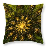 Abstract 090110 Throw Pillow