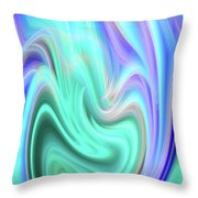 Abstract 0902 A Throw Pillow