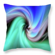 Abstract 0902 B Throw Pillow