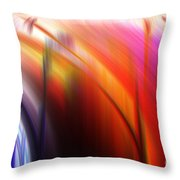 Abstract 0902 C Throw Pillow