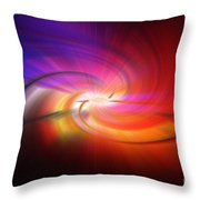 Abstract 0902 D Throw Pillow