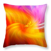 Abstract 0902 L Throw Pillow