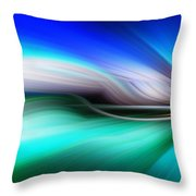 Abstract 0902 M Throw Pillow