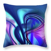 Abstract 0902 N Throw Pillow