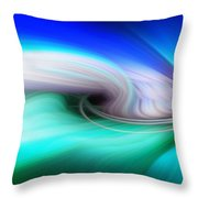 Abstract 0902 P Throw Pillow