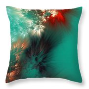 Abstract 090710 Throw Pillow