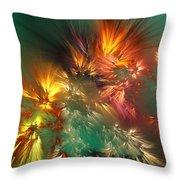 Abstract 090710a Throw Pillow