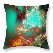 Abstract 090710b Throw Pillow