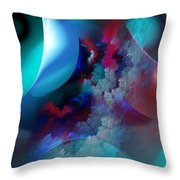 Abstract 0971711 Throw Pillow
