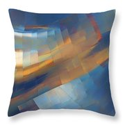 Abstract - 1 - Emp - Seattle Throw Pillow