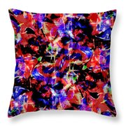 Abstract #1 On 15 August 2018 Throw Pillow