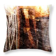 Abstract 1 Throw Pillow