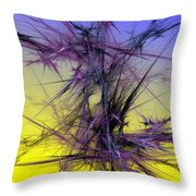Abstract 10-08-09 Throw Pillow