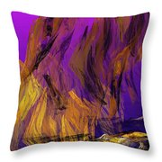 Abstract 10-16-09-3 Throw Pillow