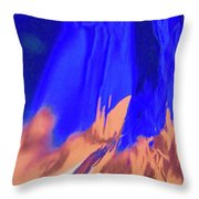 Abstract 10058 Throw Pillow