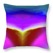 Abstract 101x By Nixo Throw Pillow