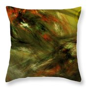 Abstract 102910a Throw Pillow