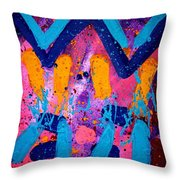 Abstract 10316 - Cropped Throw Pillow