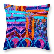 Abstract 10316 II Throw Pillow