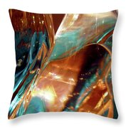 Abstract 1032 Throw Pillow