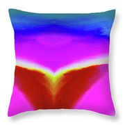 Abstract 103x By Nixo Throw Pillow