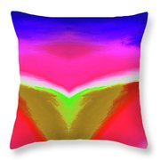 Abstract 104x By Nixo Throw Pillow