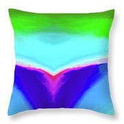 Abstract 106x By Nixo Throw Pillow