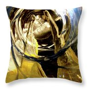 Abstract 1076 Throw Pillow