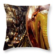 Abstract 1079 Throw Pillow