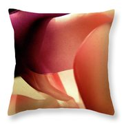 Abstract 1084 Throw Pillow
