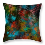 Abstract 11-18-09 Throw Pillow