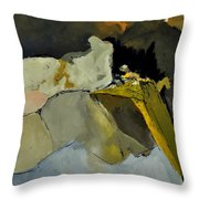 Abstract 110111 Throw Pillow