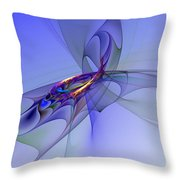 Abstract 110210 Throw Pillow