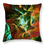 Abstract 110810 Throw Pillow