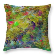 Abstract 111510 Throw Pillow