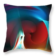 Abstract 112810 Throw Pillow