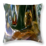 Abstract 1186 Throw Pillow