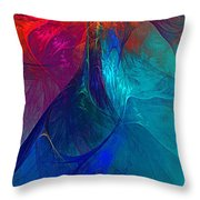 Abstract 120610 Throw Pillow