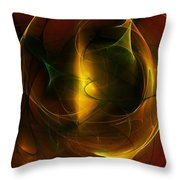 Abstract 120610a Throw Pillow