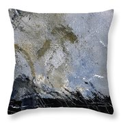 Abstract 135 Throw Pillow
