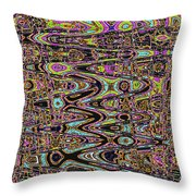 Abstract #141 Throw Pillow
