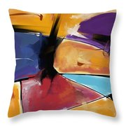 Abstract 1445 Throw Pillow