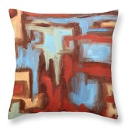 Abstract 147 Throw Pillow by Patrick J Murphy