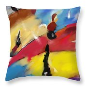 Abstract 1508 Throw Pillow
