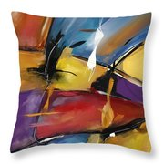 Abstract 1509 Throw Pillow