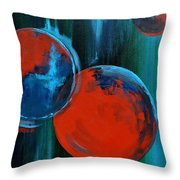 Abstract 16 Throw Pillow