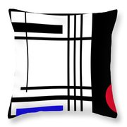 Abstract 160213 Throw Pillow
