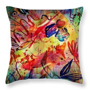 Abstract 17-05 Throw Pillow