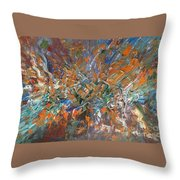 Abstract #179 Throw Pillow