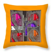 Abstract 1832 Throw Pillow